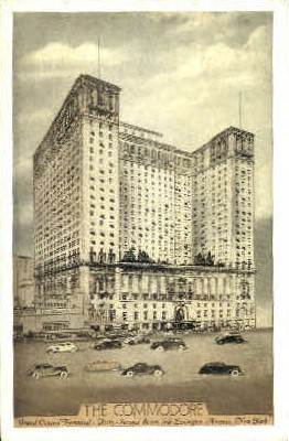 The Commadore - Misc, New York NY Postcard