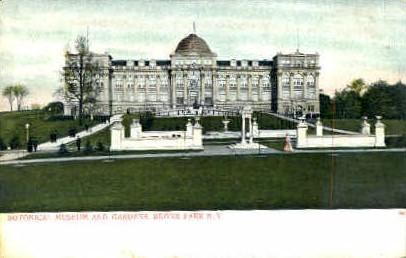 Botonical Museum and Gardens - Bronx Park, New York NY Postcard