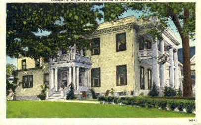 Tubberts Court - Syracuse, New York NY Postcard