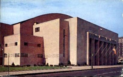 Onondaga County War Memorial Building - Syracuse, New York NY Postcard