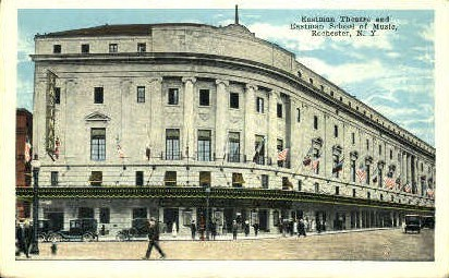 Eastman Theatre and School of Music - Rochester, New York NY Postcard