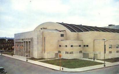 Memorial Hall Entrance - Syracuse, New York NY Postcard