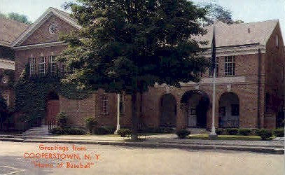 Cooperstown, New York Postcard