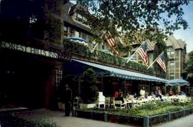 Forest Hills Inn - Misc, New York NY Postcard