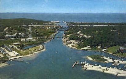 Historic Shinnecock Canal - Long Island, New York NY Postcard