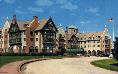 Montauk Manor - Long Island, New York NY Postcard