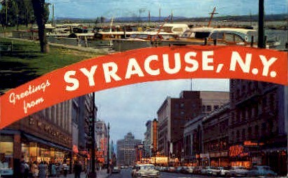 Syracuse, New York Postcard