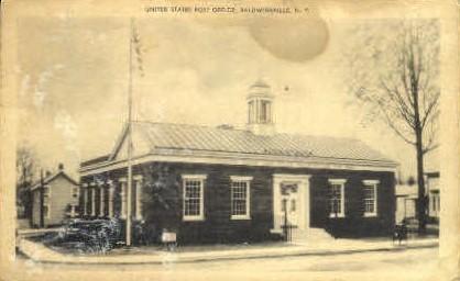 United States Post Office - Baldwinsville, New York NY Postcard
