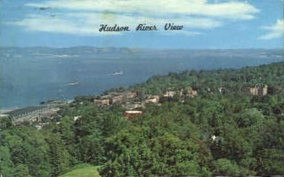 Hudson River View - Misc, New York NY Postcard