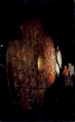 Telescopic Disc, Corning Glass Center - New York NY Postcard