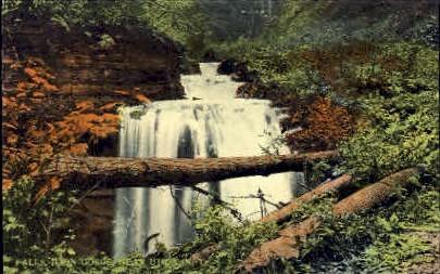 Falls, Ilion Gorge - Utica, New York NY Postcard