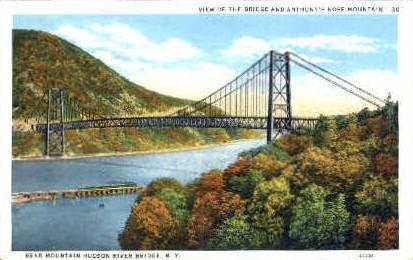 View of the Bridge  - Misc, New York NY Postcard