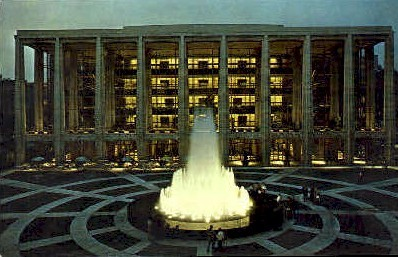 Lincoln Center for the Performing Arts - Misc, New York NY Postcard