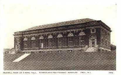 Russell Sage 2d Dining Hall - Troy, New York NY Postcard