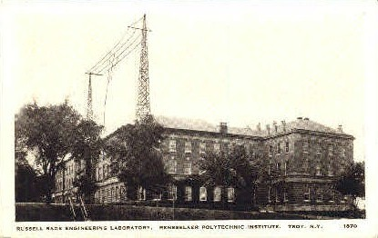 Russell Sage Engineering Laboratory - Troy, New York NY Postcard