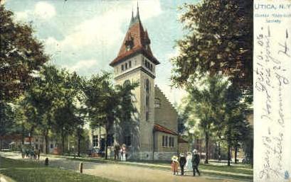 Oneida Historical Society - Utica, New York NY Postcard