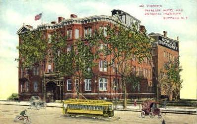 Dr. Pierces Invalids Hotel - Buffalo, New York NY Postcard