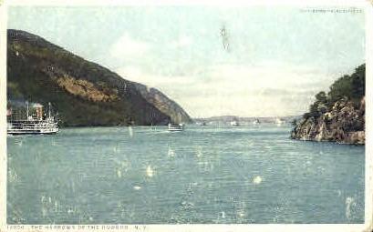 The Narrows of the Hudson - Misc, New York NY Postcard