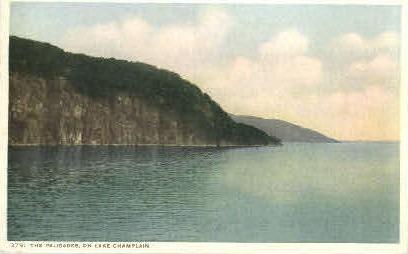 The Palisades - Misc, New York NY Postcard