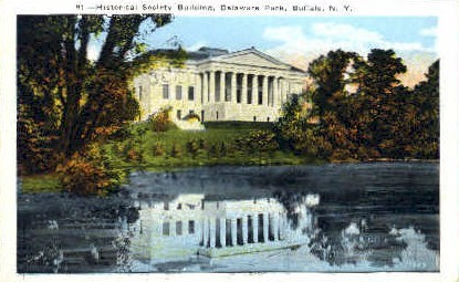 Historical Society Building - Buffalo, New York NY Postcard