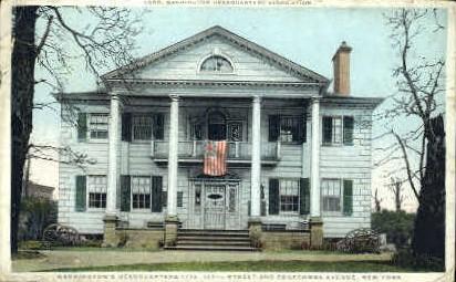Washingtons Headquarters - Misc, New York NY Postcard