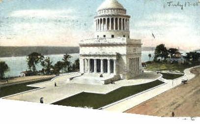 Grants Tomb - Misc, New York NY Postcard