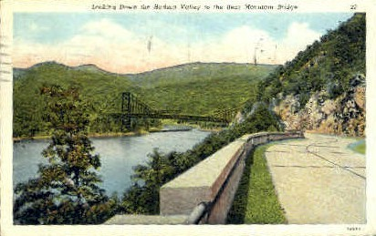 Looking Down the Hudson Valley - Misc, New York NY Postcard