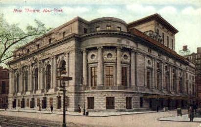 New Theatre  - Misc, New York NY Postcard