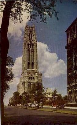 Riverside Church - Misc, New York NY Postcard