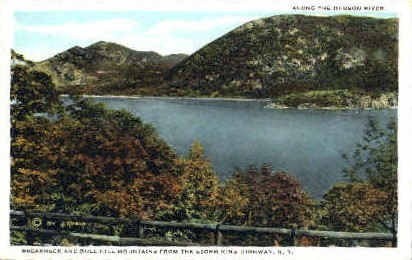 Breakneck and Bull Hill Mountains - Misc, New York NY Postcard
