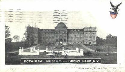 Botanical Museum - Bronx Park, New York NY Postcard
