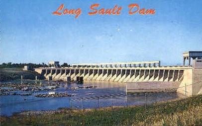Long Sault Dam - Massena, New York NY Postcard