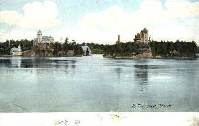 In Thousand Islands - Misc, New York NY Postcard