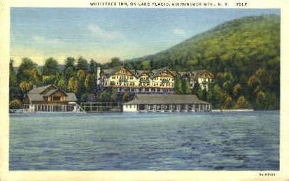 Whiteface Inn - Adirondack Mts, New York NY Postcard