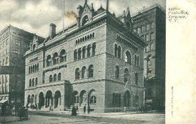 Post Office - Syracuse, New York NY Postcard