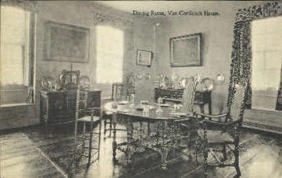Dining Room, Van Cortlandt House  - Misc, New York NY Postcard