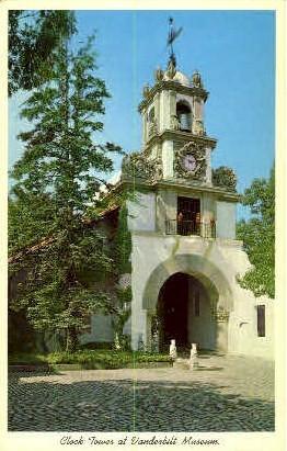 Clock Tower Vanderbilt Museum - Long Island, New York NY Postcard