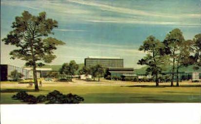 Houghton Park Corning Glass - New York NY Postcard