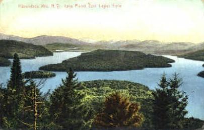Lake Placid - Adirondack Mts, New York NY Postcard