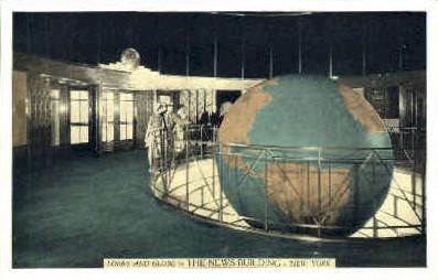 The News Building - New York City Postcards, New York NY Postcard