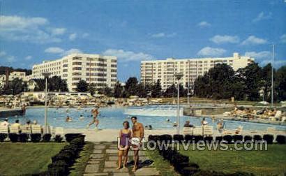 Concord Hotel - Kiamesha Lake, New York NY Postcard