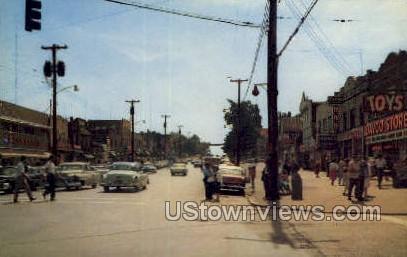 Main Street - Monticello, New York NY Postcard
