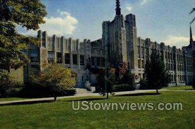 Middletown High School - Misc, New York NY Postcard