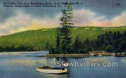 Third Lake, Adirondack Mts - Old Forge, New York NY Postcard