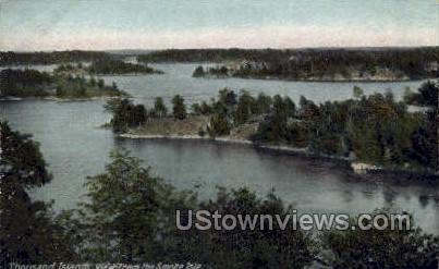 Smoke Isle - Thousand Islands, New York NY Postcard