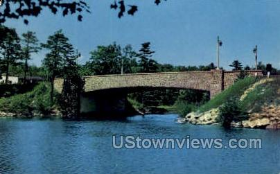 Thousand Islands Bridge - New York NY Postcard