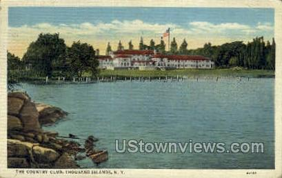 The Country Club - Thousand Islands, New York NY Postcard
