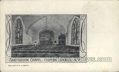 Sanitarium Chapel - Clifton Springs, New York NY Postcard