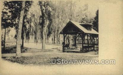 Sanitarium Park - Clifton Springs, New York NY Postcard