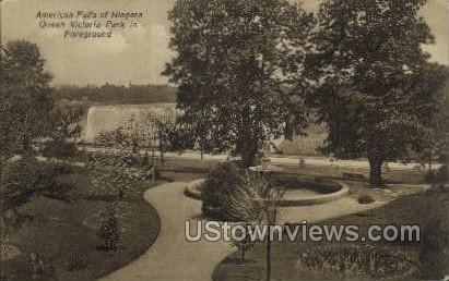 Queen Victoria Park - Buffalo, New York NY Postcard